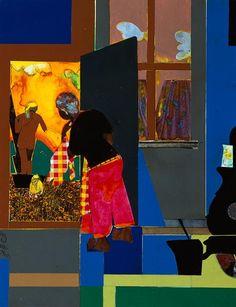 Sunrise - Romare Bearden  (Walter O. Evans Collection)