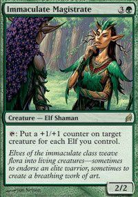 Magic: the Gathering - Immaculate Magistrate - Lorwyn - Foil