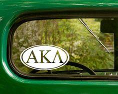Alpha Kappa Lambda Decal Fraternity by StickerAndDecalMafia