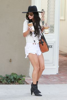 Vanessa Hudgens out in West Hollywood (Sep. 10)