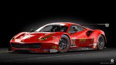Ferrari 488 Front by dangeruss on DeviantArt Ferrari Racing, Ferrari 488, Gt Cars, Race Cars, Weird Cars, Cool Cars, Car Experience, Porsche 911 Rsr, Toyota Fj Cruiser