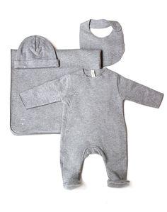 Gray Label Organic Newborn Gift Set