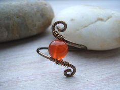 "Ring mit Karneol  ""Flamenco"" von garden of shambala auf DaWanda.com"