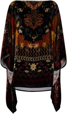 Harrods, the world's most famous department store online with the latest men's and women's designer fashion, luxury gifts, food and accessories Printed Silk, Luxury Beauty, Luxury Gifts, Kimono Fashion, Harrods, Fashion Accessories, Jackets For Women, Floral Prints, Bell Sleeve Top