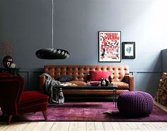 Is Cognac Leather Furniture as Neutral as Denim? Yay or Nay | Maria Killam