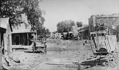 Main Street, Visalia, Ca. The main reason this looks like a scene out of the old West, is because it is. Visalia was a stagecoach stop for Butterfield Stage lines (which preceded Wells Fargo) on the way from St.Louis, Mo to San Francisco