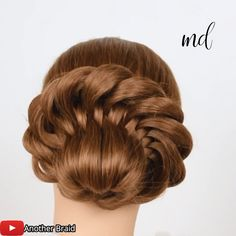 The perfect hairdo for any occasion! By: Braid kurze haare flechten hochzeit videos EASY TWISTED BUN Easy Hairstyles For Long Hair, Box Braids Hairstyles, Girl Hairstyles, Female Hairstyles, Hairstyle Men, Hairstyles 2018, School Hairstyles, Girls Hairdos, Style Hairstyle