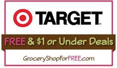 Target Deals FREE & $1 Or Less Coupon Match-Ups!!