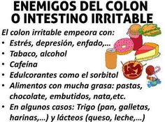 dieta colon irritable que comer