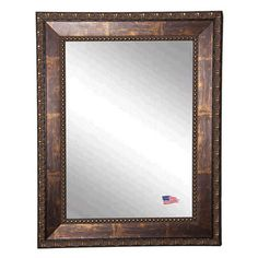 Beaded Copper Waves Mirror - Overstock Shopping - Great Deals on ...