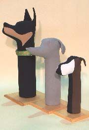 Collar Displays Dog Mannequins - badsfinc.com
