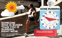 Someone busier; go run