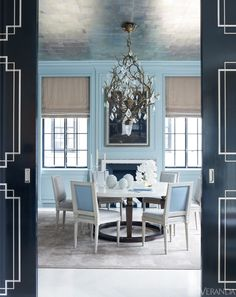 Asian Inspired Home Design Interior decorating ideas, Home Decor Ideas, Red teen room Design: David Kleinberg and Peter Pennoyer. Decor, Home, Dining Room Design, Living Room Designs, House Interior, Cool Rooms, Luxury House Designs, Blue Rooms, Room Decor