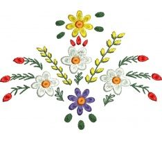 Výšivka GORALI MALÁ2 Diy Embroidery