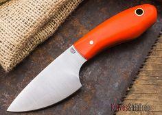 L.T. Wright Knives: JX3 - Orange G-10