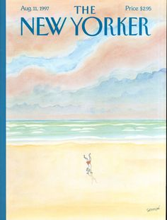 """Cover Story: """"Waves,"""" by J. J. Sempé - The New Yorker"""