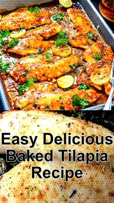 Baked tilapia is a delicious and simple dish baked until it reaches perfect maturity, this is the simplest dish ever. Easy Baked Tilapia Recipe Lets Cooking letscookingbro Dinner Ideas Baked tilapia is a delicious and simple Fish Dishes, Seafood Dishes, Best Jambalaya Recipe, Talipia Recipes, Easy Dinner Recipes, Easy Meals, Freezer Meals, Dinner Ideas, Cooking Recipes