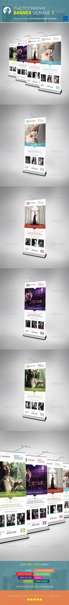 Photography Banner Signage 1 - $6: