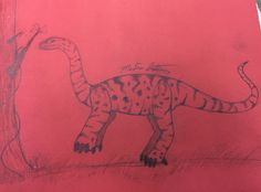 Apatosaurus-by: Madison Latella