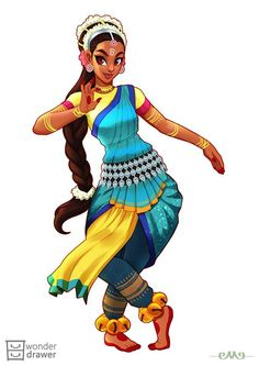 The Character Design Challenge! Art by Aimy Anne Calilung • Theme for May was: #IndianDancer • Special Guest Juror was: Miki Montlló Discover all the artists of our community and the current Theme of the Month in our GROUP! And when you repost your...