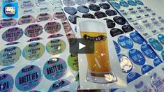 Domed stickers made for KYKAO BREWERY on Vimeo Brewery, Stickers, Decals