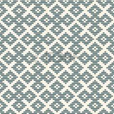 flat stitch: Seamless background. Japanese Kogin embroidery. Abstract pattern. Traditional ornament Hana-tsunagi. Geometric illustration. Simple asian ornament for stitching.