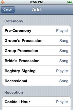 Save thousands of dollars by using the My WeddingDJ app instead! inspirations-for-my-far-in-the-future-wedding