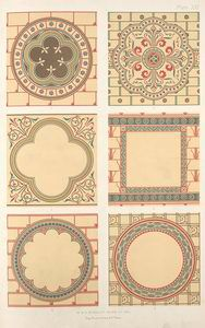 Medallions, for ornamental devices and figure subjects. Design Seeds, Elements Of Design, Romanesque, Egyptian Art, Patterns In Nature, New York Public Library, Vintage World Maps, Miniatures, Symbols