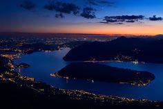 Monte Isola at Twilight