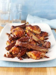 MAPLE CHICKEN 'N' RIBS I keep coming back to this recipe it's really easy and delicious there is never any leftovers!!!
