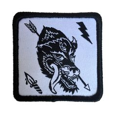 Wolf patch sold by Squid Lords. Shop more products from Squid Lords on Storenvy, the home of independent small businesses all over the world.
