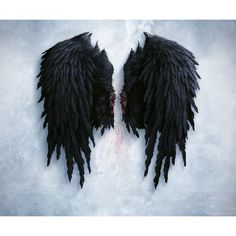 aion black wings ❤ liked on Polyvore featuring wings, costumes and misc