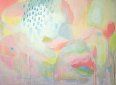 Blush by Alice Lo, Acrylic on canvas Abstract Expressionism Art, Abstract Art, Pink Abstract, Original Paintings, Original Art, Pastel Sky, Buy Art, Saatchi Art, Pattern Design