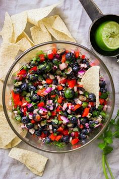 Healthy Eating Recipes, Lunch Recipes, Paleo Recipes, Healthy Food, Blueberry Salsa Recipe, Blueberry Recipes, Grilled Veggies, New Cookbooks, Whole 30 Recipes