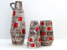 Vintage West German Pottery Collection
