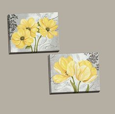Beautiful Grey & Yellow Flower; Two 14X11in Stretched Can... https://www.amazon.com/dp/B00XWK4RS6/ref=cm_sw_r_pi_dp_x_8dXqybANSJNWH