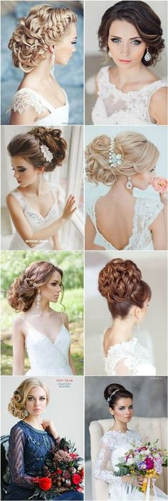 25 Most Beautiful Updo Wedding Hairstyles to Inspire You