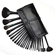 24 Pcs Makeup Brush with Free Leather Pouch -... – USD $ 19.49