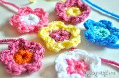 Crocheted Tiny Flower