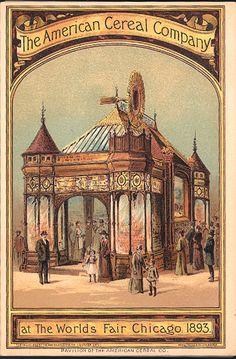 The American Cereal Company at the World's Fair, Chicago, 1893: World's Fair Souvenir... Boston: Armstrong & Co., Lith.