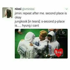 I can imagine jimin saying this to jungkook . Bts Namjoon, Jungkook Abs, Bts Bangtan Boy, Hoseok, Jungkook Funny, Taehyung, Jikook, K Pop, Famous Meme