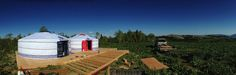 Yurts and eco-farming just go hand in hand