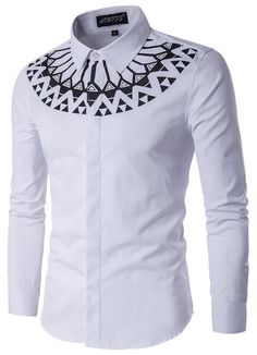 Cheap shirt making, Buy Quality shirt clipart directly from China shirt denim men Suppliers: Camisa Masculina Slim Fashion Men Shirt 2017 New Brand Casual Long-Sleeved Chemise Homme Camisa Masculina large size African Attire, African Wear, African Style, Striped Long Sleeve Shirt, Long Sleeve Shirts, African Men Fashion, Mens Fashion, Fashion Brand, African Shirts For Men