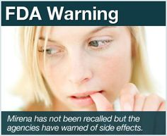 Mirena IUD warnings and side effects. Ladies--- Remove this if you have one!!! Trust me.