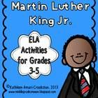 Martin Luther King Jr. ELA Activities for grades 3-5 1. Vocab. Word ...