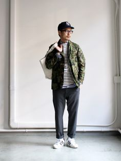 nanamica GORE-TEX Camouflage Field Jacket 商品詳細 Strato, Men's Spring Summer Fashion.