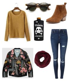 """⚗Potion➡️Poison"" by yoliredolat on Polyvore featuring moda, Miss Selfridge, Gucci, Valfré y BCBGMAXAZRIA"