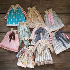 https://flic.kr/p/sxmN65   Antique Babydoll Dresses for blythecon Madrid ❤