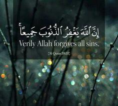 Allah Forgives All Sins.