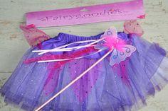 Fairy/Ballet Tutu with Wand, Child size Small, Purple + Sequins Xmas Fancy Dress Xmas Fancy Dress, Fancy Dress For Kids, Girls Fancy Dresses, Ballet Tutu, Dress Ideas, Fairy Tales, Sequins, Purple, Children